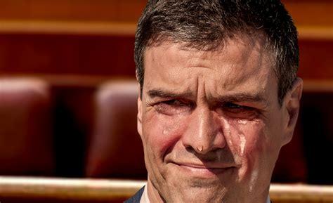 Pedro Sánchez se derrumba y reconoce que es un actor   El ...