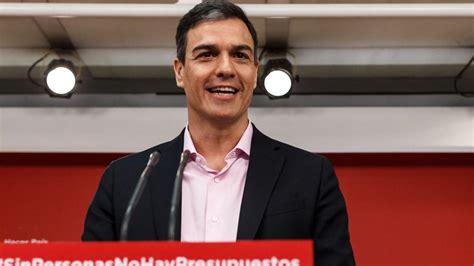 """Pedro Sánchez: """"Hoy es más difícil confiar en la ..."""