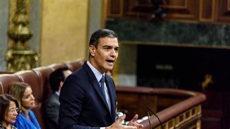 Pedro Sánchez, última hora sobre la investidura en directo