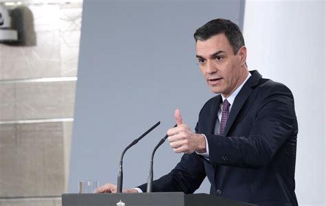 Pedro Sánchez: Última hora sobre la rueda de prensa tras ...