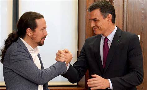 Pedro Sanchez y Pablo Iglesias están en el punto de mira ...