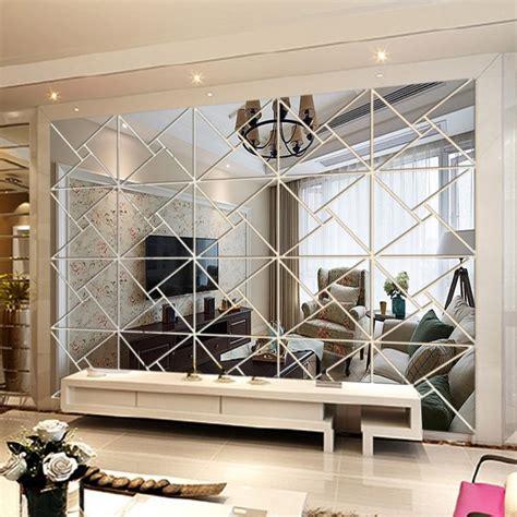 Pegatinas de acrílico para pared DIY con espejo decorativo ...