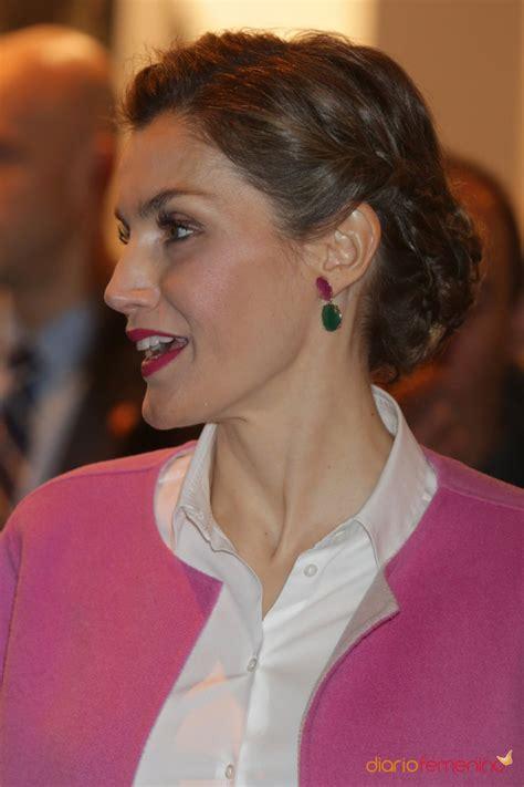 Peinados reina Letizia: amante de las trenzas