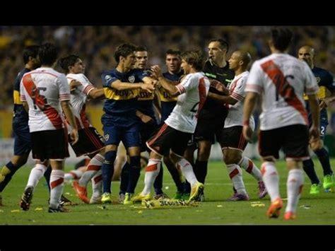 Pelea completa Boca vs River 0 2 Torneo de verano 2017 ...