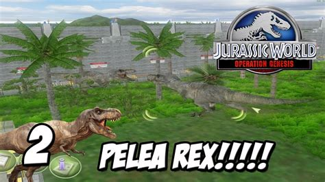 PELEA DE TYRANNOSAURUS!!!!!!! // JURASSIC WORLD 2 ...