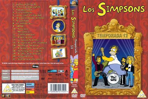 PELICULAS DVD FULL: LOS SIMPSONS   TEMPORADA 12