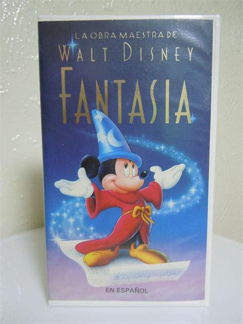 Peliculas Infantiles Vhs, Fantasía, Clásicos, Disney ...