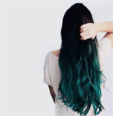 Pelo estilo californiano verde marino | Coloración de ...