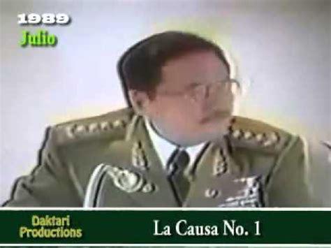Pena de muerte por fusilamiento. Juicio al General Arnaldo ...