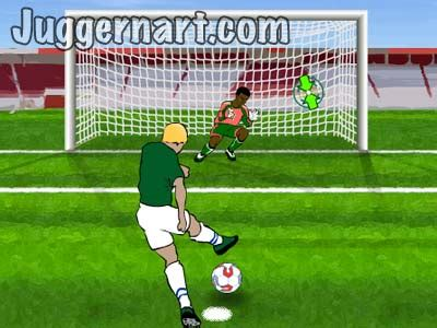 Penalty 10, a fast and fun penalty shootout soccer game