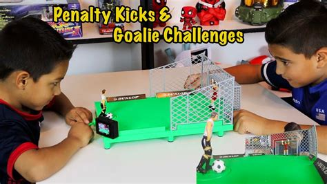 Penalty kicks and Goalie Challenges with Tabletop Shootout ...