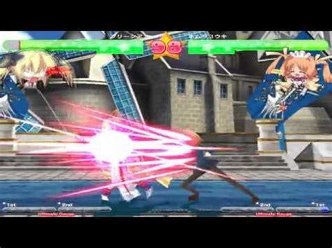 Pencil Royale Game Sample   PC anime juego Doujin   YouTube