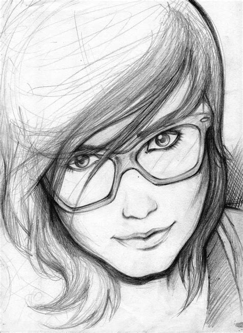 Pencil Sketches of People | Easy Pencil Drawings Of Love ...