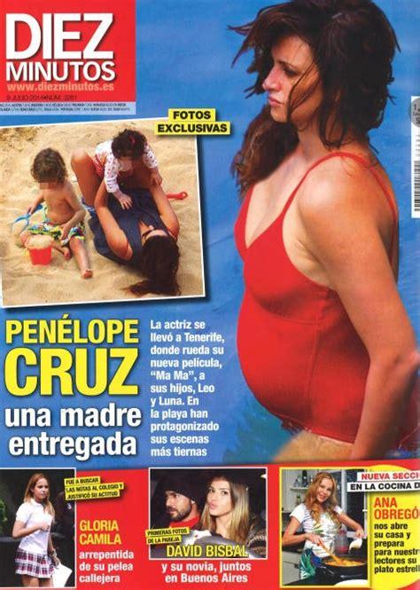 Penélope Cruz, una madre entregada en Diez Minutos ...