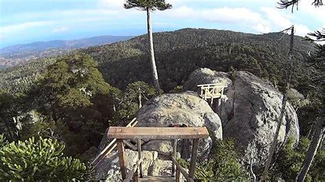 Peñón Piedra del Águila, Parque Nacional Nabuelbuta, Chile ...
