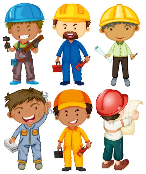 People doing different types of jobs   Download Free ...