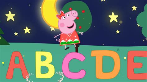 PEPPA PIG   Aprende El Abecedario  Canción infantil en ...