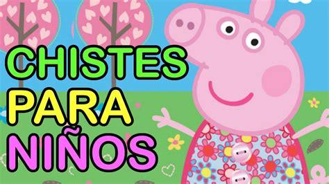 Peppa pig cuenta chistes buenos para niños cortos ...