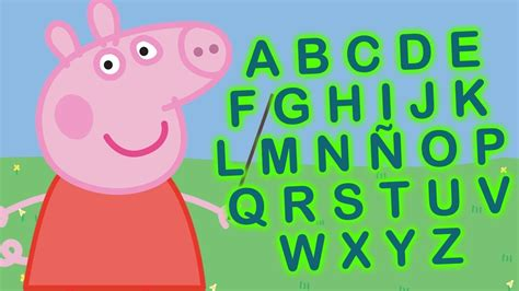 Peppa Pig en español, ABC, Aprende las letras con Peppa ...