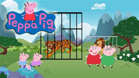 Peppa pig the zoo full episodes