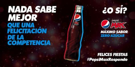 Pepsi responde a la felicitación de Coca Cola con otra ...