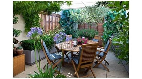 Pequeñas ideas de jardín con terrazas   YouTube