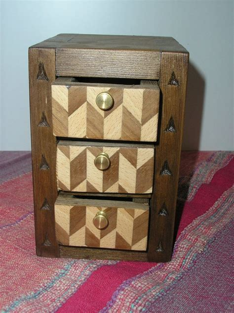Pequeños joyeros de madera [TARACEA]