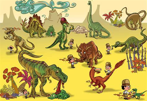 Pequesaurus: Identifica los dinosaurios. Actividad para ...