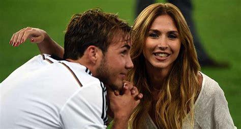 Percance de la novia de Mario Gotze es furor en las redes ...