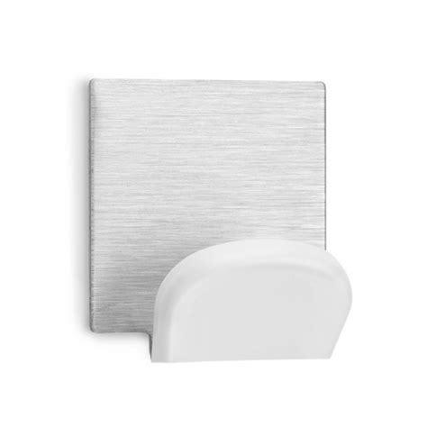 Percha Adhesiva Blanco / Inoxidable Blister 2 45x40x30mm ...