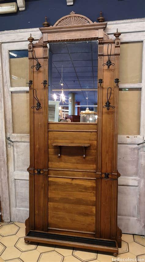 perchero, mueble entrada alfonsino restaurado   Comprar ...