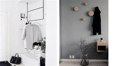 Percheros minimalistas para decorar el recibidor   Decoora