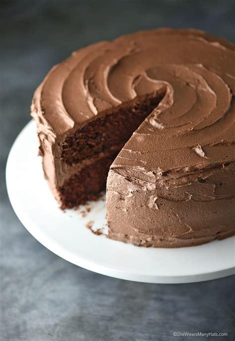 Perfect Chocolate Cake Recipe   She Wears Many Hats