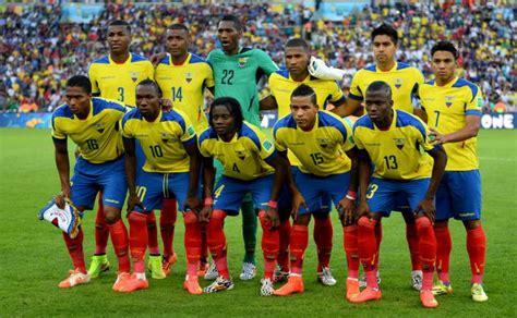 Perfil de la Selección de Ecuador para la Copa América ...