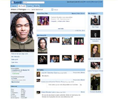 perfil de Tuenti   Blog famosos en internet