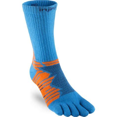 Performance Ultra Run Crew Running Socks Blue UNISEX at ...
