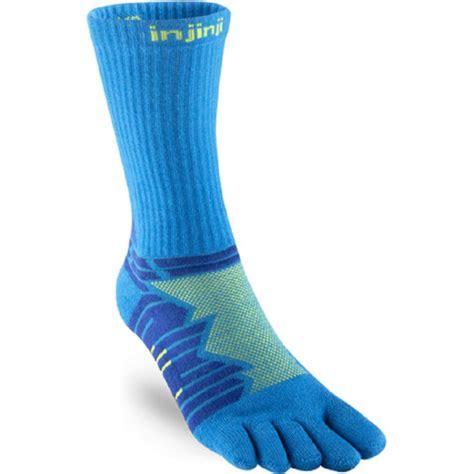 Performance Ultra Run Crew Running Socks Lime UNISEX at ...