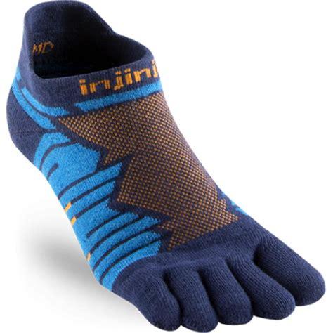 Performance Ultra Run No Show UNISEX Running Socks Blue at ...