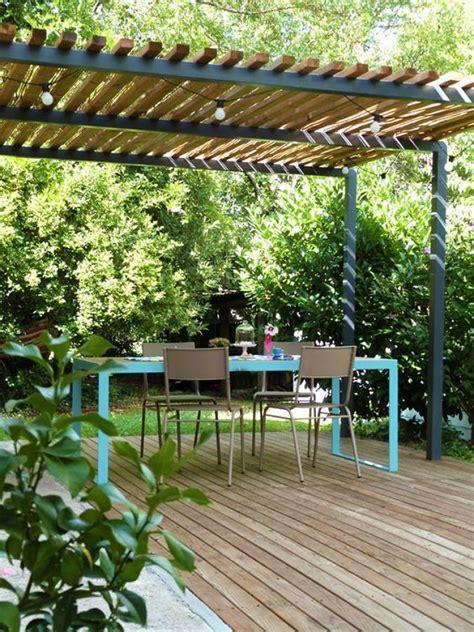pérgola en la terraza   Terrasita   Terraza jardin ...