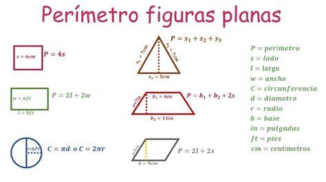 Perímetro de todas las figuras  y cómo calcularlo ...