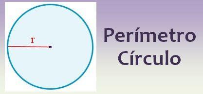 Perímetro de un círculo