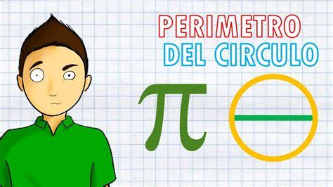 PERIMETRO DEL CIRCULO Super facil   YouTube
