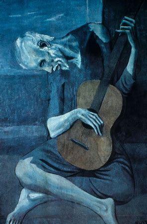 période bleue picasso tableaux   Bing images | Picasso ...