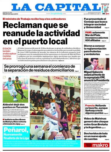 Periódico Diario La Capital   Mar del Plata  Argentina ...