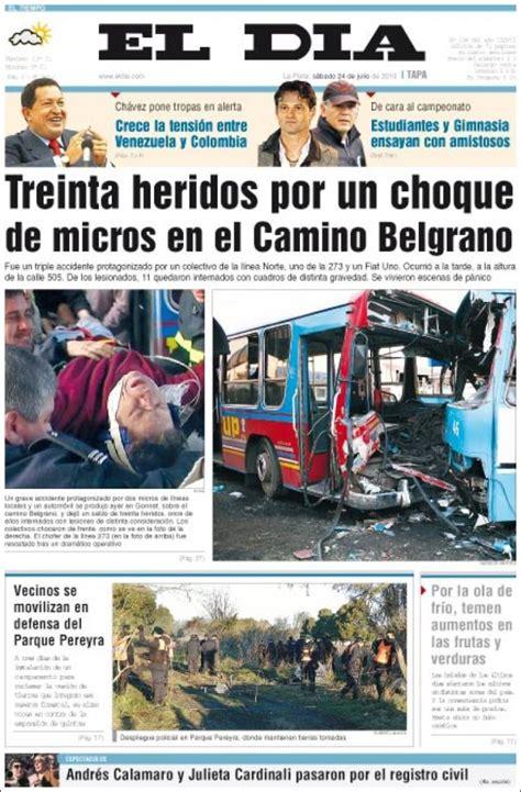 Periódico El Día de la Plata  Argentina . Periódicos de ...