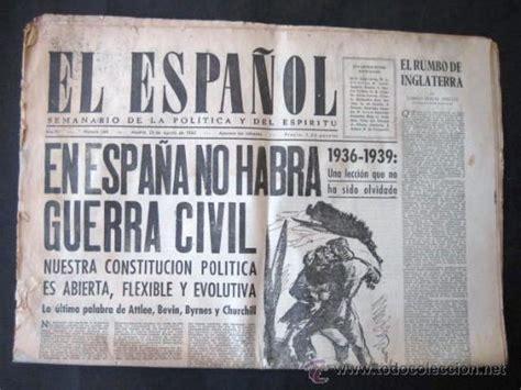 periodico   el español   1945. interesante titu   Comprar ...