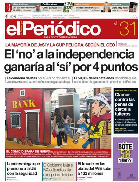 Periódico El Periódico  España . Periódicos de España ...