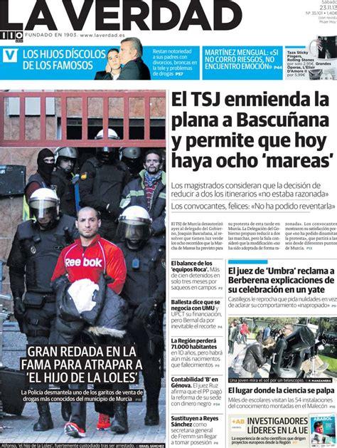 Periodico La Verdad   23/11/2013
