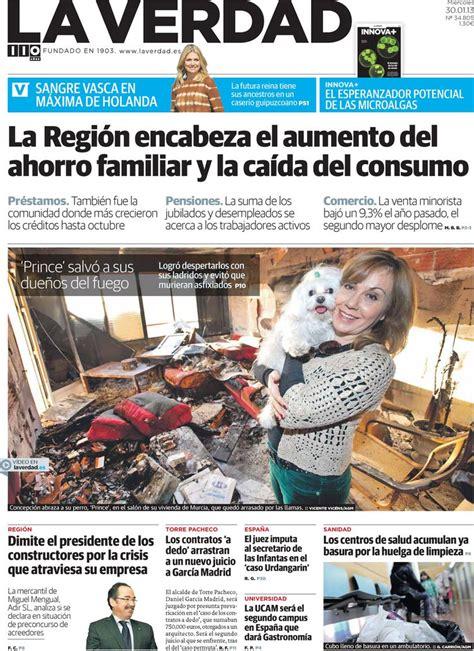 Periodico La Verdad   30/1/2013