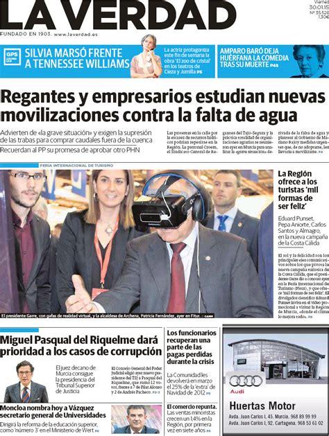 Periodico La Verdad   30/1/2015
